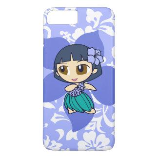 Aloha Honighawaiisches Peri Pareau Hula Mädchen iPhone 8 Plus/7 Plus Hülle