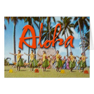Aloha Hula Karte