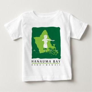 Aloha Insel Hanauma Bucht-Hawaiis Oahu Hula Tänzer Baby T-shirt