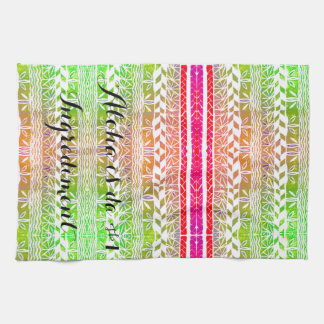 Aloha ist DA #1 Ingrediment Handtuch