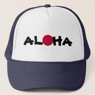 Aloha japanische aufgehende Sonne-Flagge Hawaiis Truckerkappe