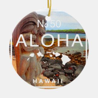 Aloha keine 50 Tiki Keramik Ornament