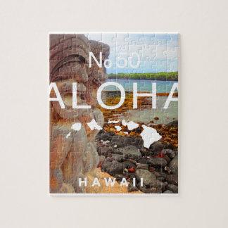 Aloha keine 50 Tiki Puzzle