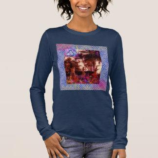 Aloha langes Hülsen-Shirt der Frauen Langarm T-Shirt