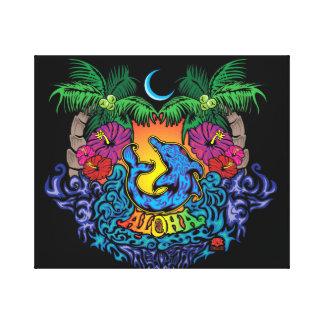 Aloha Leinwanddruck