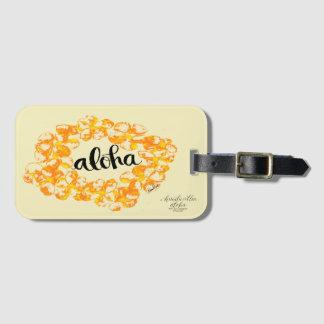 Aloha Leu-Taschen-Umbauten Kofferanhänger
