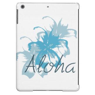 Aloha mit Blumen iPad Air Hülle