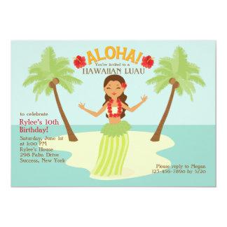Aloha Party Einladung