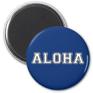 Aloha Runder Magnet 5,7 Cm