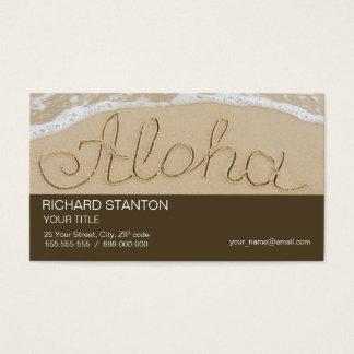 Aloha Sandwort Visitenkarte