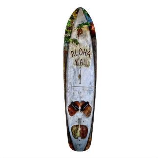 Aloha SIE tropisches Skateboard Individuelle Decks