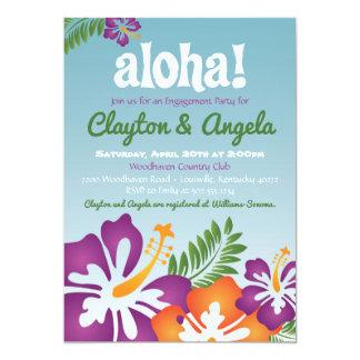 Aloha Sommer Luau Einladung
