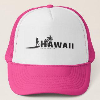 Aloha stehen Hawaii oben schaufelnd Truckerkappe