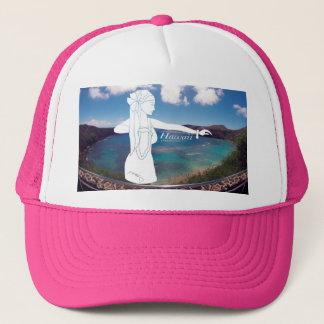 Aloha Tänzer Hanauma Bucht-Hawaiis Hula Truckerkappe