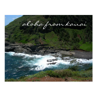 aloha von Kauai-Postkarte Postkarte