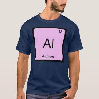Alonzo Namenschemie-Element-Periodensystem T-Shirt