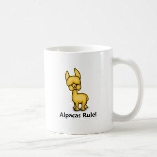 Alpaka-Regel! Kaffeetasse