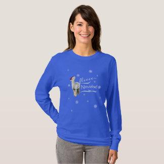 Alpaka-WeihnachtsShirt T-Shirt