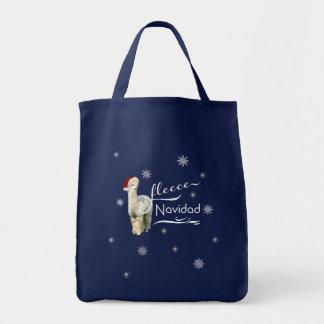 Alpaka-WeihnachtsTaschen Tragetasche
