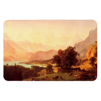 Alpen 1859 Alberts Bierstadt Bernese Magnet