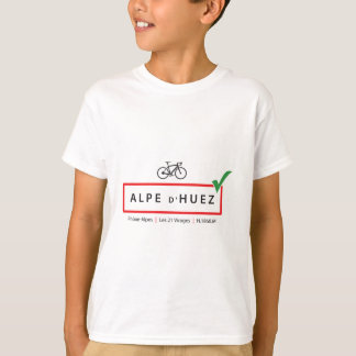 """Alpen d'Huez """"eroberte"""" Reihe T-Shirt"""