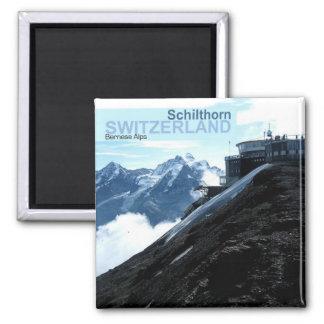Alpen-Foto-Reise-Magneten der Schweiz Bernese Quadratischer Magnet