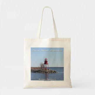 Alpena Hafen-Leuchtturm - Budget-Tasche Budget Stoffbeutel