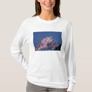 Alpenglow auf Aoraki Berg-Koch, der Mackenzie 2 T-Shirt
