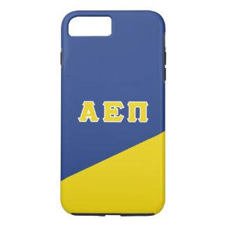 Alpha Grieche-Buchstaben Epsilon-PUs   iPhone 8 Plus/7 Plus Hülle