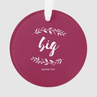 Alpha großer Kranz des Phi-| Ornament