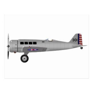 Alpha Northrop Y1C-19 Postkarte
