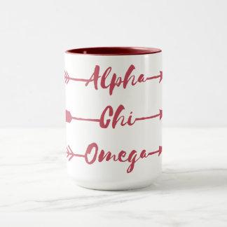 Alpha Pfeile Chi-Omegas | Tasse