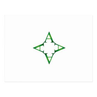 Alphabet A Postkarte