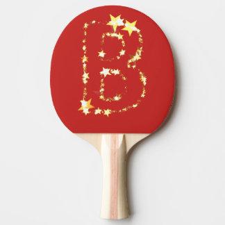 Alphabet b tischtennis schläger