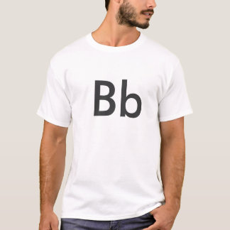 Alphabet - Bb T-Shirt