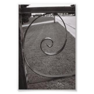 Alphabet-Buchstabe-Fotografie E1 Schwarzweiss-4x6 Kunstfotos