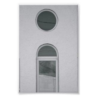Alphabet-Buchstabe-Fotografie I3 Schwarzweiss-4x6 Fotos
