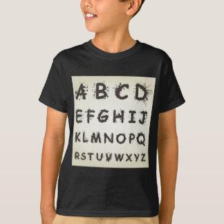 Alphabet ein Fleck T-Shirt