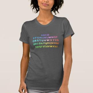 Alphabet-Farben T-Shirt