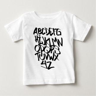 Alphabet-Graffiti Baby T-shirt