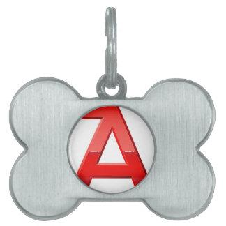 Alphabet-letztere eine englische Art Typografienam Tiermarke