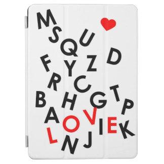 Alphabet mit Wort: Liebe iPad Air Hülle