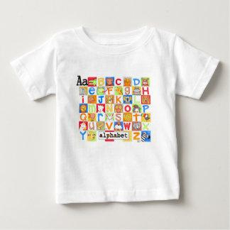 Alphabet-Shirt Baby T-shirt