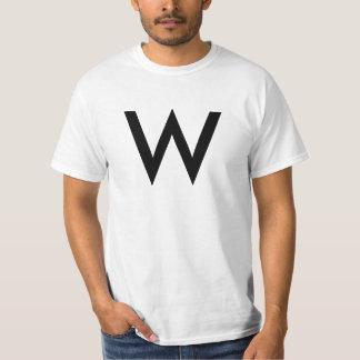 "Alphabet-T - Shirt (""W"")"
