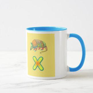 Alphabet Tasse/x-xenarthra Tasse