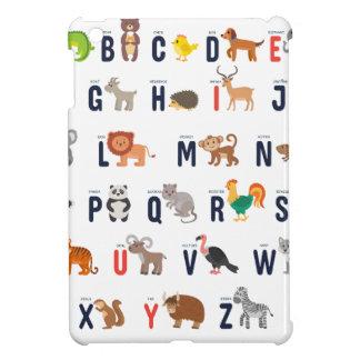 Alphabet-Tiere - superniedliches! iPad Mini Hülle