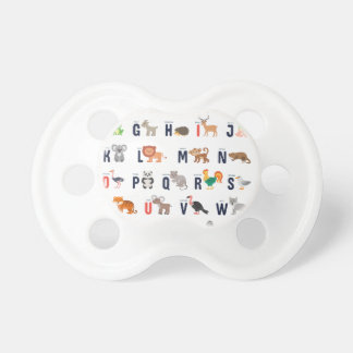 Alphabet-Tiere - superniedliches! Schnuller