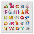 Alphabetplakat der Kinder Poster