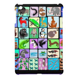 Alphabettiere iPad Mini Hülle