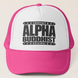 ALPHAbuddhist - Güte ist nicht Schwäche, Schwarzes Truckerkappe